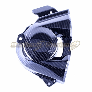 2015-2018 Ninja H2 H2R Engine Sprocket Chain Case Cover Guard Cowl Carbon Fiber,  Twill