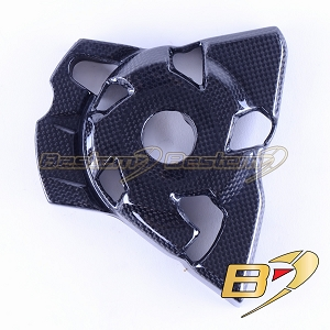 2010-2019 Kawasaki Z1000 Z1000R 2017-2019 Engine Sprocket Chain Case Cover Guard Fairing Cowl Carbon Fiber