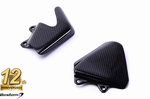 MV Agusta F4 100% Carbon Fiber Heel Guards