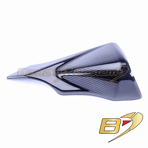 Suzuki GSXR 600 750 2011-2017 100% Carbon Fiber Heat Shield  Twill Weave