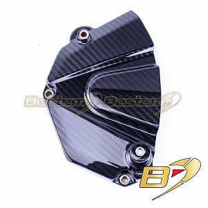 Yamaha YZF R6 2006 - 2020 100% Carbon Fiber Sprocket Cover Twill Weave