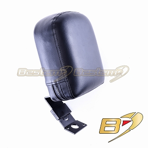 Suzuki M109R Driver Backrest, Black Finish