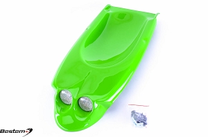 Kawasaki ZX9R 98-02 Undertail, Green