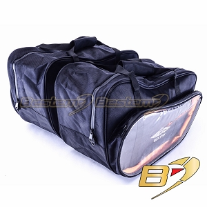 BMW K1200LT Saddlebags Sideliners Side Case Trunk Liners Bags, Not CD Version, Black - Pair