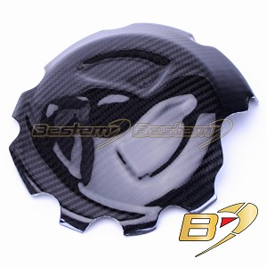 2009-2014 BMW S1000RR Carbon Fiber Right Side Engine Clutch Gearbox Case Cover Twill