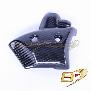 Yamaha YZF R1 2009 - 2014 100% Carbon Fiber Water Pump Cover  Twill Weave Pattern