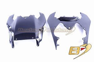 2008-2016 Yamaha R6 Carbon Fiber Rear Upper & Lower Driver Seat Tail Cowl