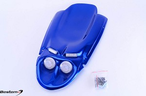 Suzuki GSXR 600(01-03)/750(00-03)/1000(01-02) Undertail,Blue,4 Lights