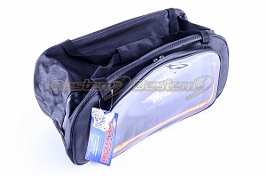 BMW K1200LT Topliner Top Box Case Trunk Liner Bag, Black with Clear Pocket