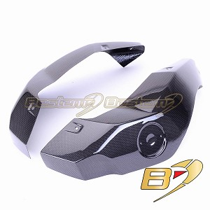 2008 - 2013  BMW R1200GS Adventure 100% Carbon Fiber Tank Side Panels