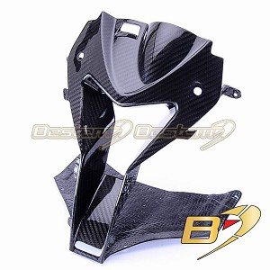 BMW S1000RR HP4 2009 - 2014 Carbon Fiber Head Nose Cowl, Twill