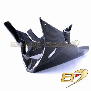S1000RR Belly Pan, Twill Weave