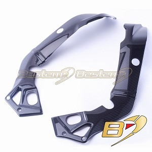 BMW S1000RR 2015 - 2018 S1000R 2017 - 2018 100% Carbon Fiber Frame Covers, Twill