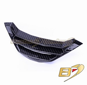S1000R Radiator Cover Lower , Twill