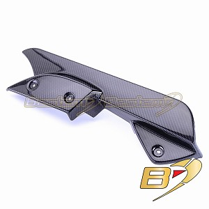 Can-Am Spyder RS 100% Carbon Fiber Chain Guard Lower, Twill Weave ,