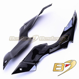 Ducati Streetfighter 100% Carbon Fiber Tank Side Panels, Twill