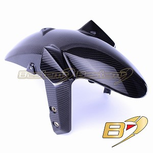 2014-2019 Yamaha FZ-09/MT-09 100% Carbon Fiber Front Fender, Twill Weave Pattern