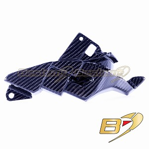Yamaha R1 2015-2019 FZ10 MT10 2016-2018 Carbon Fiber Left Side ECU Panel Cover Fairing Twill Weave Pattern