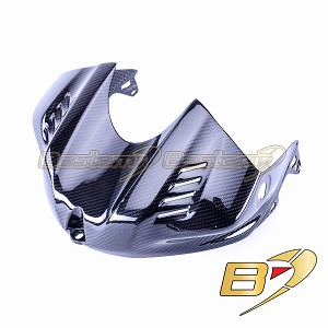 2017-2020 Yamaha R6 Carbon Fiber Gas Tank Air Box Front Cover Guard Cowl Fairing, Twill Weave