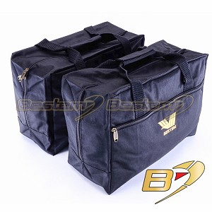 BMW F650GS Saddlebag Sideliners Side Case Trunk Liners Bags, Black - Pair