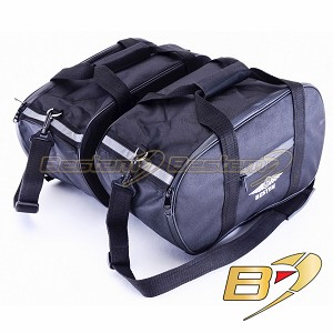 BMW R1100R K1200R S R1100GS R1150GS K1200GT (-05) R850R Saddlebag Sideliners Side Case Trunk Liners Bags, Black - Pair