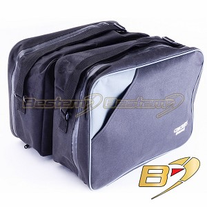 Kawasaki Concours ZG1000 Saddlebag Sideliners Side Case Trunk Liners Bags, Black - Pair